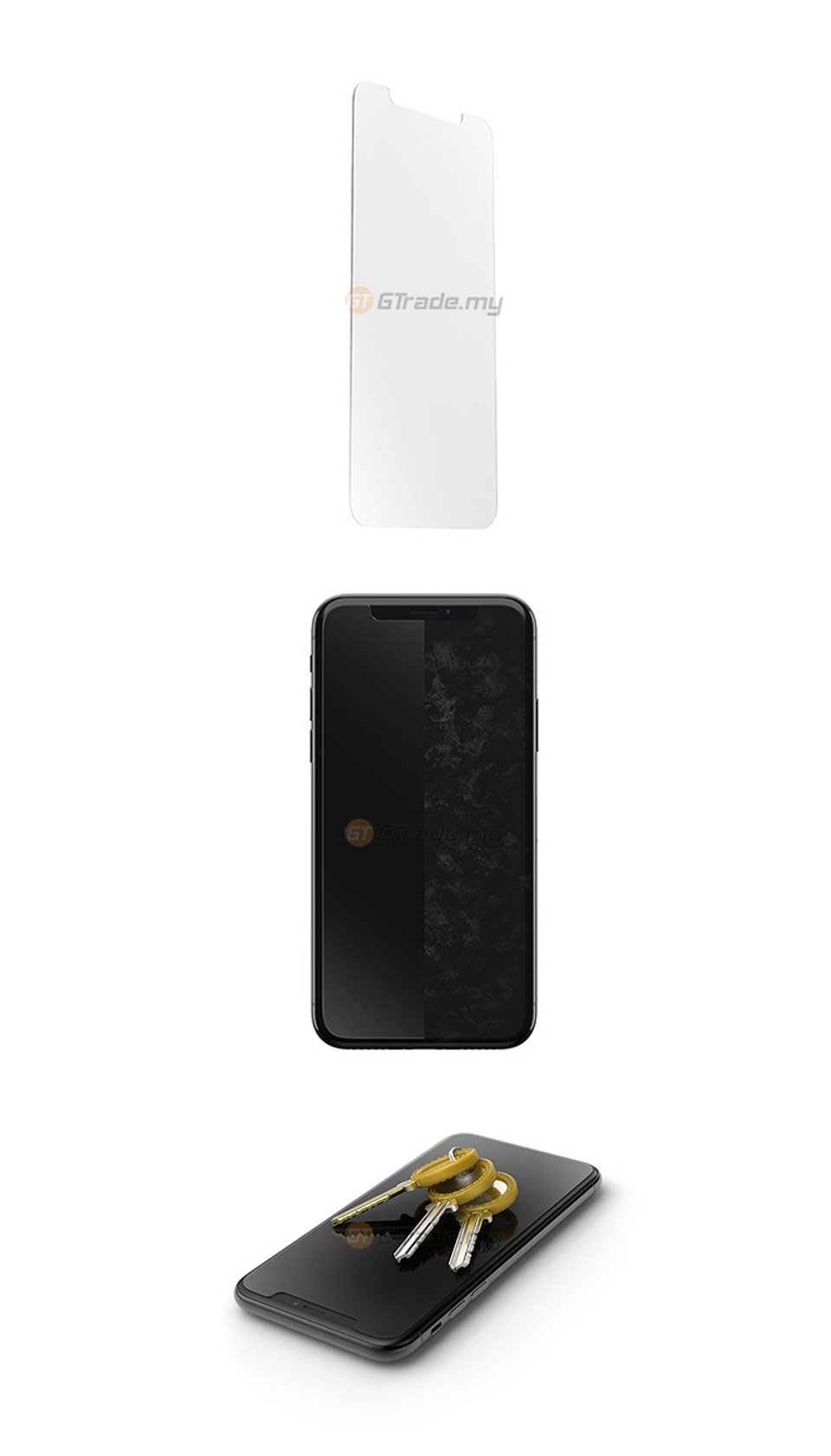 buy popular 62cec dcf9b OTTERBOX Alpha Glass Screen Protector | Apple iPhone Xs *Free Gift